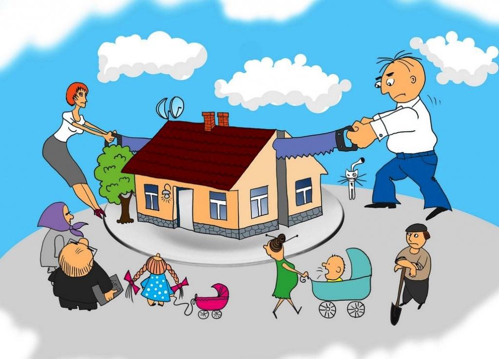 раздел наследственной квартиры